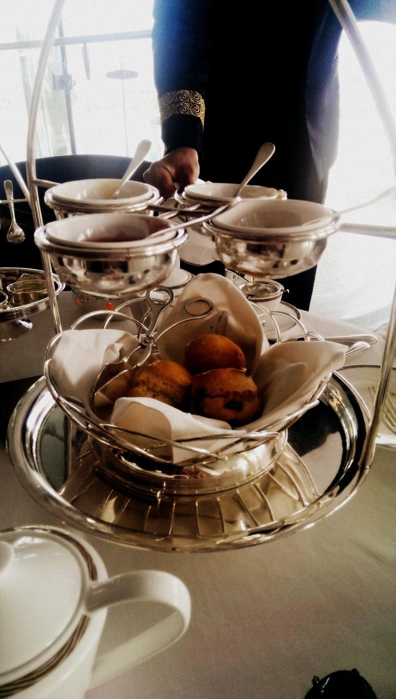 Scones! My favourite part of tea!